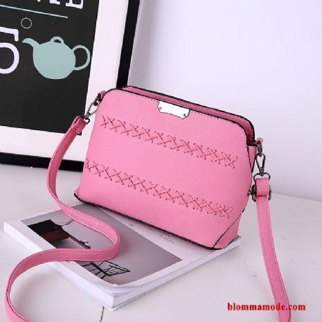 rosa liten väska